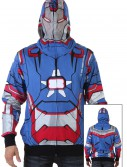 Patriot I Am Marvel Iron Man 3 Costume Hoodie, halloween costume (Patriot I Am Marvel Iron Man 3 Costume Hoodie)