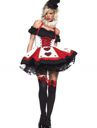 Peasant Top Queen of Hearts Costume, halloween costume (Peasant Top Queen of Hearts Costume)