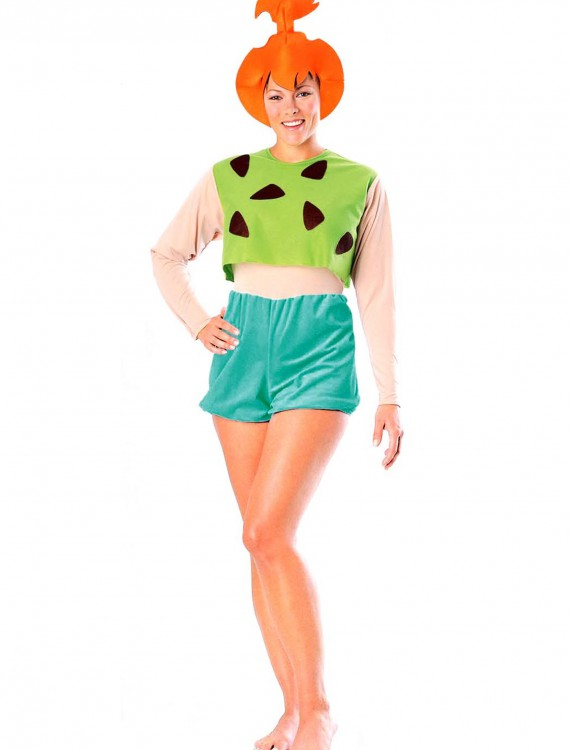 Pebbles Flintstone Adult  Costume, halloween costume (Pebbles Flintstone Adult  Costume)