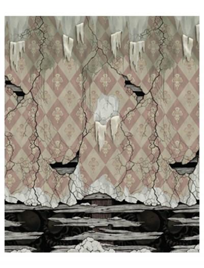 Peeling Plaster Wall Scene, halloween costume (Peeling Plaster Wall Scene)