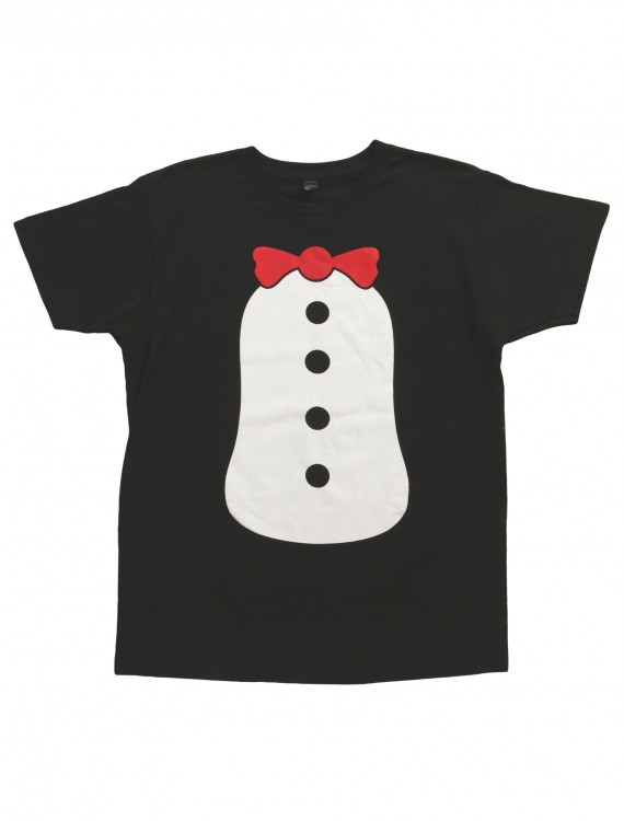 Penguin Costume T-Shirt, halloween costume (Penguin Costume T-Shirt)