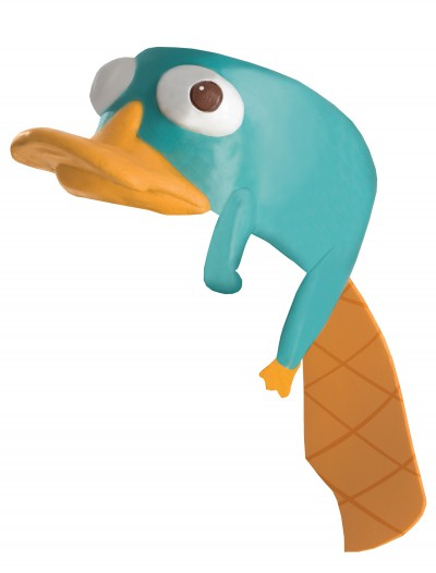 Perry the Platypus Headpiece, halloween costume (Perry the Platypus Headpiece)