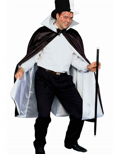 Phantom Black and White Cape, halloween costume (Phantom Black and White Cape)
