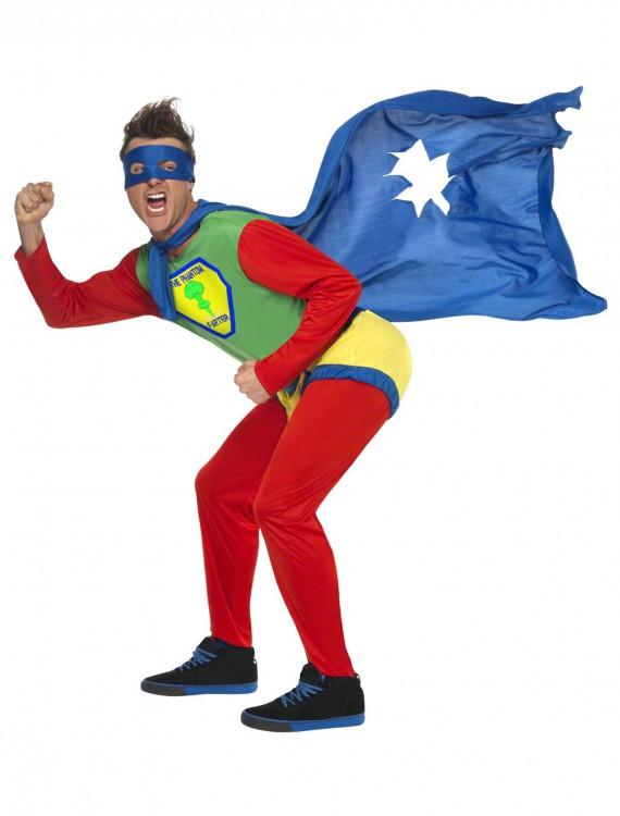 Phantom Farter Superhero Costume, halloween costume (Phantom Farter Superhero Costume)