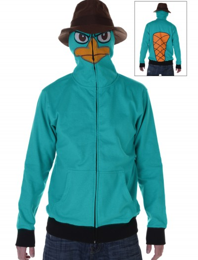 Phineas and Ferb Agent P Hoodie, halloween costume (Phineas and Ferb Agent P Hoodie)