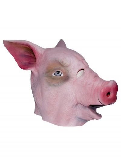 Pig Latex Mask, halloween costume (Pig Latex Mask)