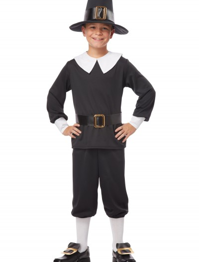 Pilgrim Boy Costume, halloween costume (Pilgrim Boy Costume)