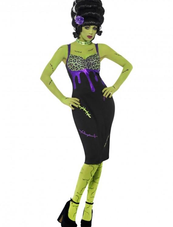 Pin Up Frankie Costume, halloween costume (Pin Up Frankie Costume)