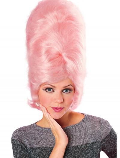 Pink Beehive Wig, halloween costume (Pink Beehive Wig)