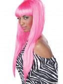 Pink Bubble Gum Wig, halloween costume (Pink Bubble Gum Wig)