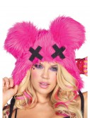 Pink Dead Mouse Furry Hood, halloween costume (Pink Dead Mouse Furry Hood)