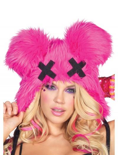 Pink Dead Mouse Furry Hood, halloween costume (Pink Dead Mouse Furry Hood)
