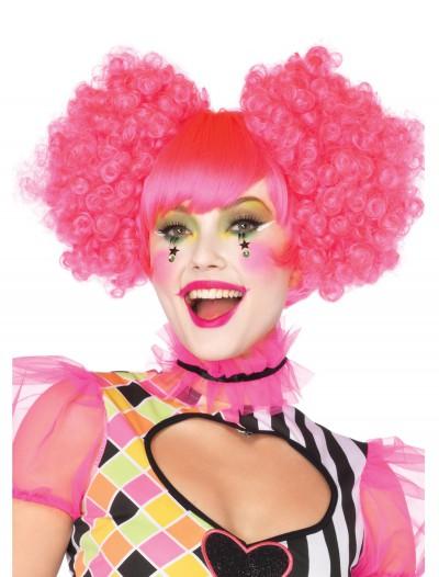 Pink Harlequin Wig, halloween costume (Pink Harlequin Wig)