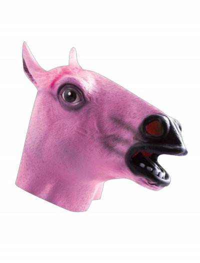 Pink Horse Mask, halloween costume (Pink Horse Mask)