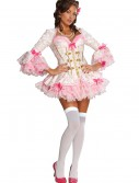 Pink Lace Marie Antoinette Costume, halloween costume (Pink Lace Marie Antoinette Costume)