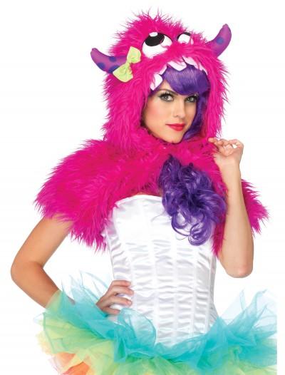 Pink Monster Fur Shrug, halloween costume (Pink Monster Fur Shrug)