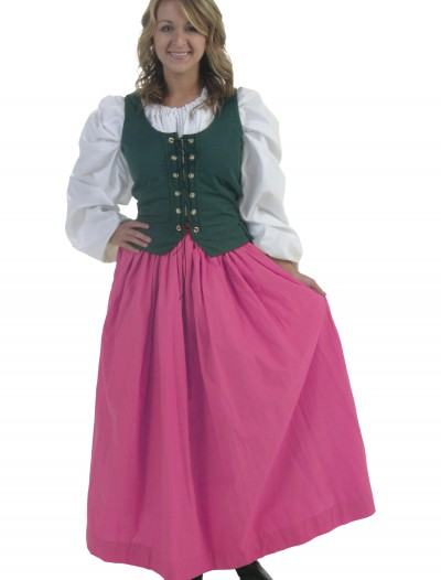 Pink Peasant Skirt, halloween costume (Pink Peasant Skirt)