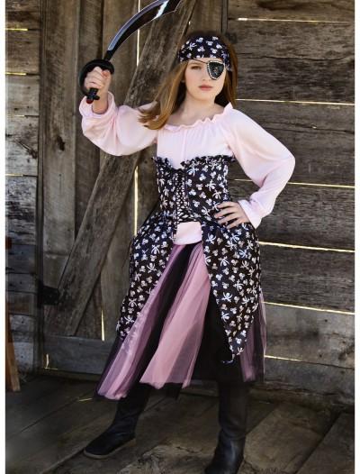 Pink Pirate Tutu Costume, halloween costume (Pink Pirate Tutu Costume)