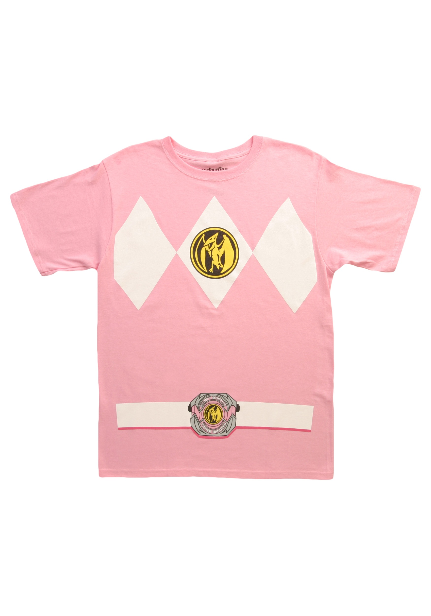 Pink Power Ranger T-Shirt  sc 1 st  Halloween Costumes & Pink Power Ranger T-Shirt - Halloween Costumes