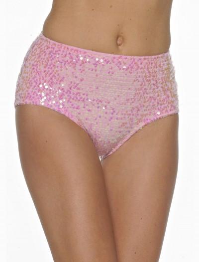 Pink Sequin Panty, halloween costume (Pink Sequin Panty)