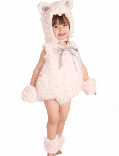 Pink Shaggy Kitty Costume, halloween costume (Pink Shaggy Kitty Costume)