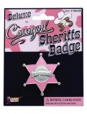 Pink Sheriff Badge, halloween costume (Pink Sheriff Badge)