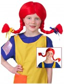 Pippi Wig, halloween costume (Pippi Wig)