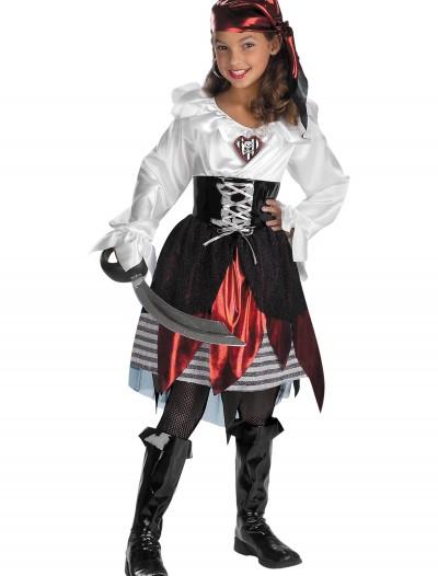 Pirate Lass Child Costume, halloween costume (Pirate Lass Child Costume)