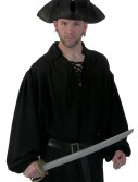 Black Pirate Shirt, halloween costume (Black Pirate Shirt)
