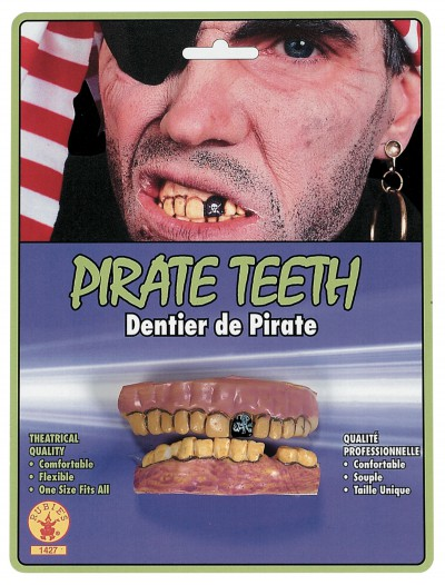 Pirate Teeth, halloween costume (Pirate Teeth)
