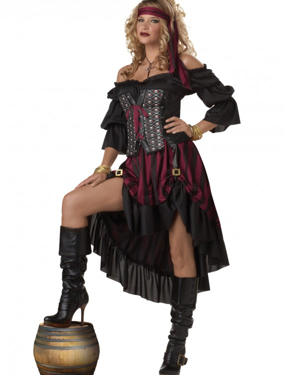 Pirate Wench Costume, halloween costume (Pirate Wench Costume)