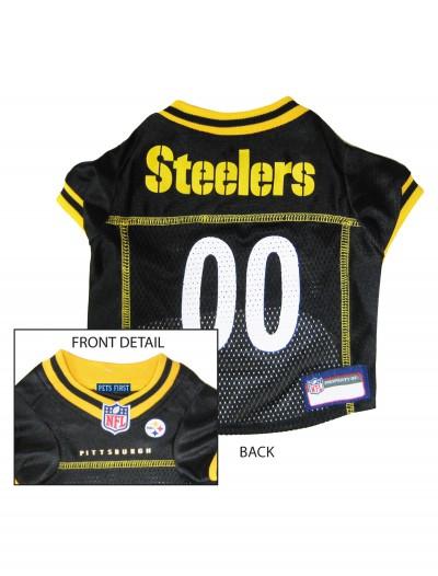 Pittsburgh Steelers Dog Mesh Jersey, halloween costume (Pittsburgh Steelers Dog Mesh Jersey)