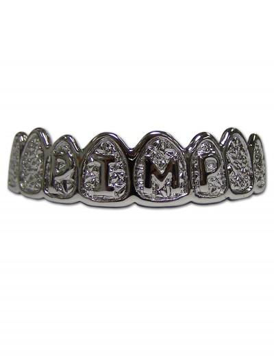 Platinum Grillz Pimp Teeth, halloween costume (Platinum Grillz Pimp Teeth)