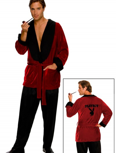 Playboy Hugh Hefner Smoking Jacket, halloween costume (Playboy Hugh Hefner Smoking Jacket)
