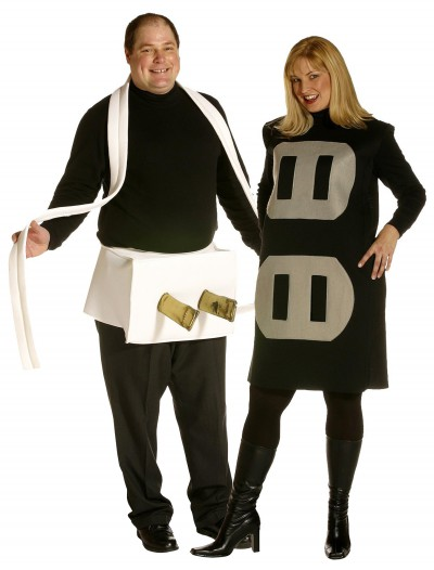 Plug and Socket Plus Size Costume, halloween costume (Plug and Socket Plus Size Costume)