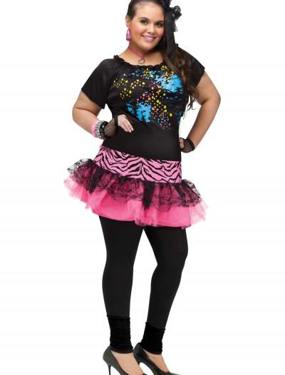 Plus 80s Pop Party Costume, halloween costume (Plus 80s Pop Party Costume)