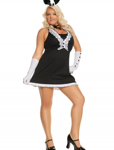Plus Black Tie Bunny Costume, halloween costume (Plus Black Tie Bunny Costume)