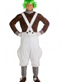 Plus Size Chocolate Factory Worker Costume, halloween costume (Plus Size Chocolate Factory Worker Costume)