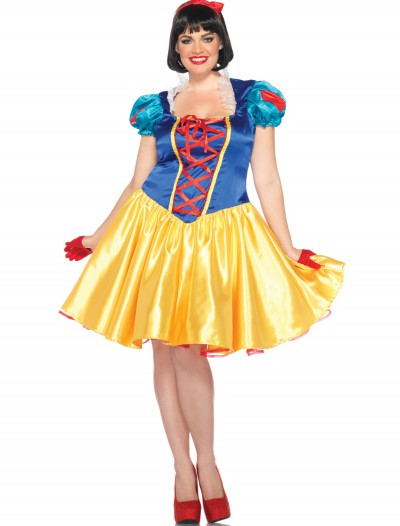 Plus Classic Disney Snow White Costume, halloween costume (Plus Classic Disney Snow White Costume)