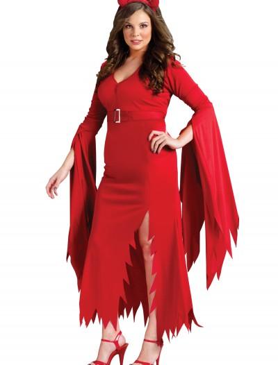Plus Gothic Devil Costume, halloween costume (Plus Gothic Devil Costume)