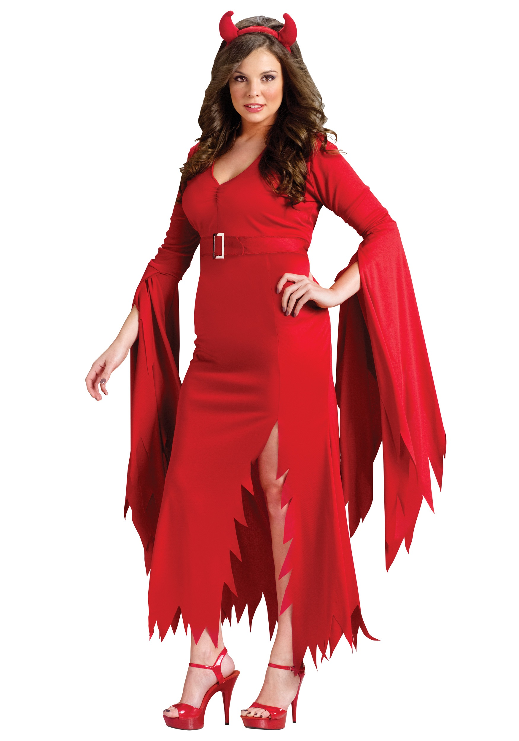 Plus Gothic Devil Costume  sc 1 st  Halloween Costumes & Plus Gothic Devil Costume - Halloween Costumes