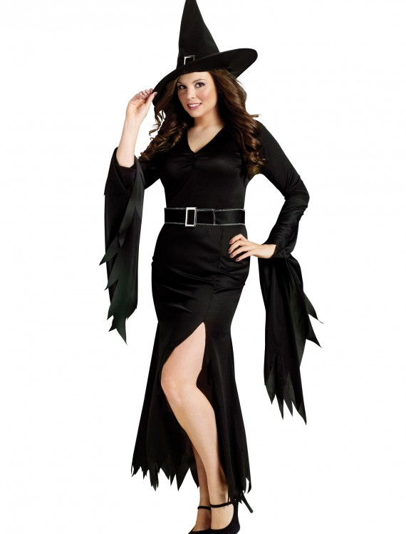 Plus Gothic Witch Costume, halloween costume (Plus Gothic Witch Costume)