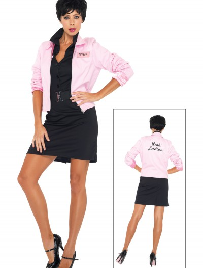 Plus Grease Pink Ladies Jacket, halloween costume (Plus Grease Pink Ladies Jacket)