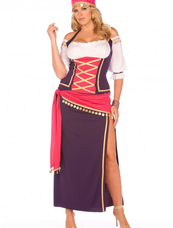 Plus Gypsy Maiden Costume, halloween costume (Plus Gypsy Maiden Costume)