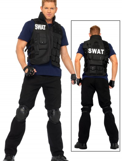 Plus Mens SWAT Team Costume, halloween costume (Plus Mens SWAT Team Costume)