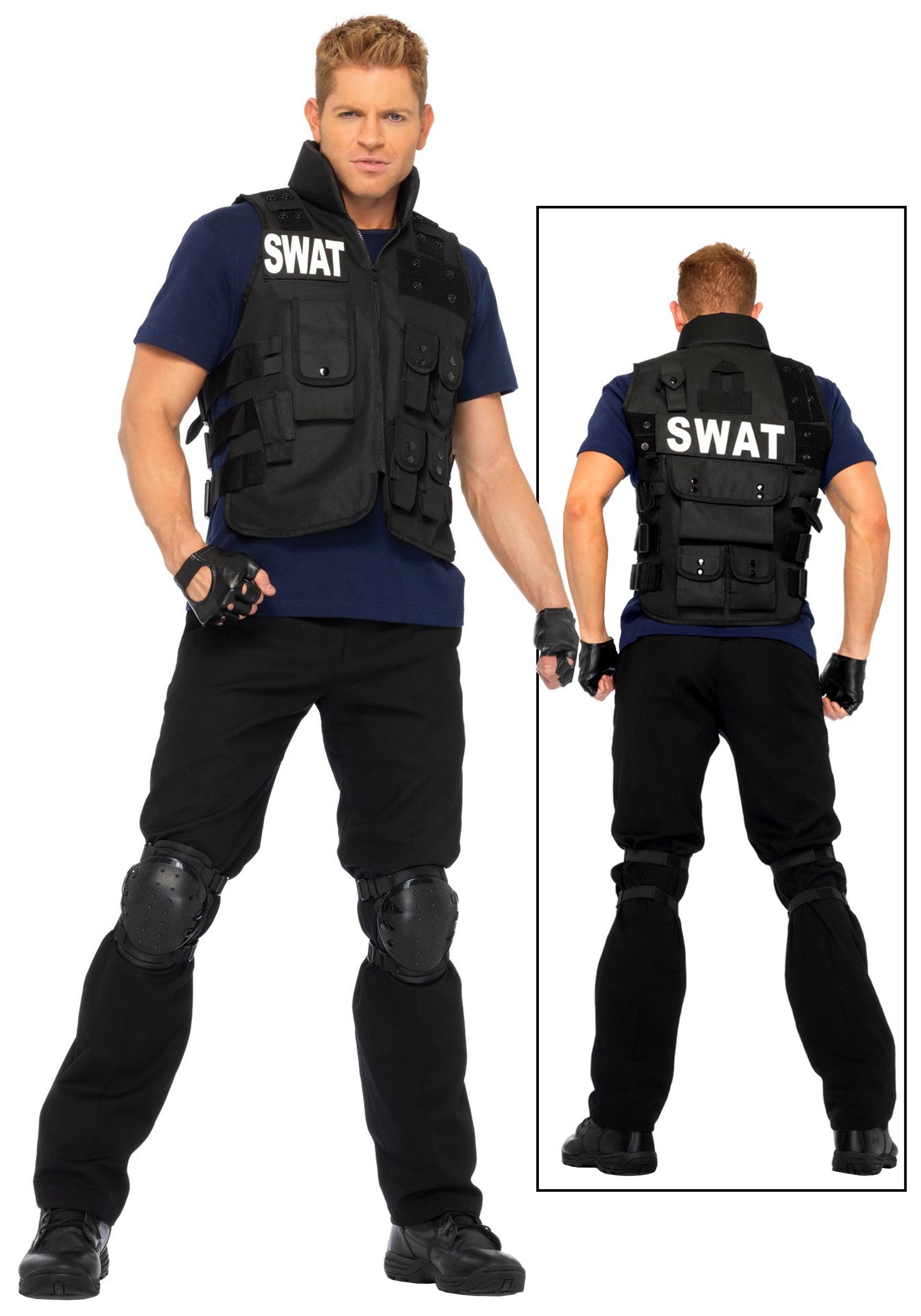66ee8bd5301 Cop Costumes For Boys & Plus Mens SWAT Team Costume Sc 1 St ...