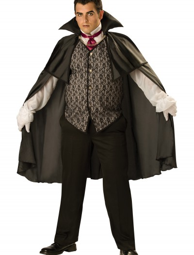Plus Midnight Vampire Costume, halloween costume (Plus Midnight Vampire Costume)