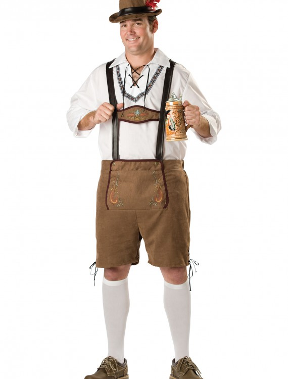 Plus Oktoberfest Guy Costume, halloween costume (Plus Oktoberfest Guy Costume)