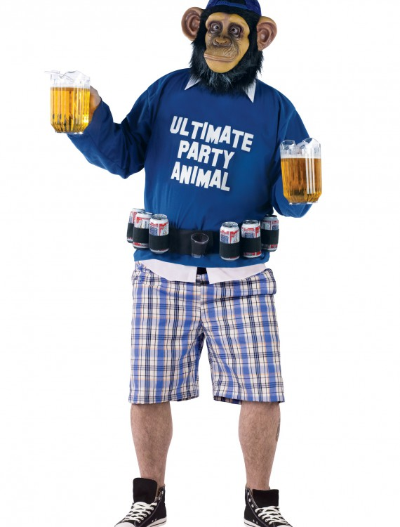 Plus Party Animal Costume, halloween costume (Plus Party Animal Costume)