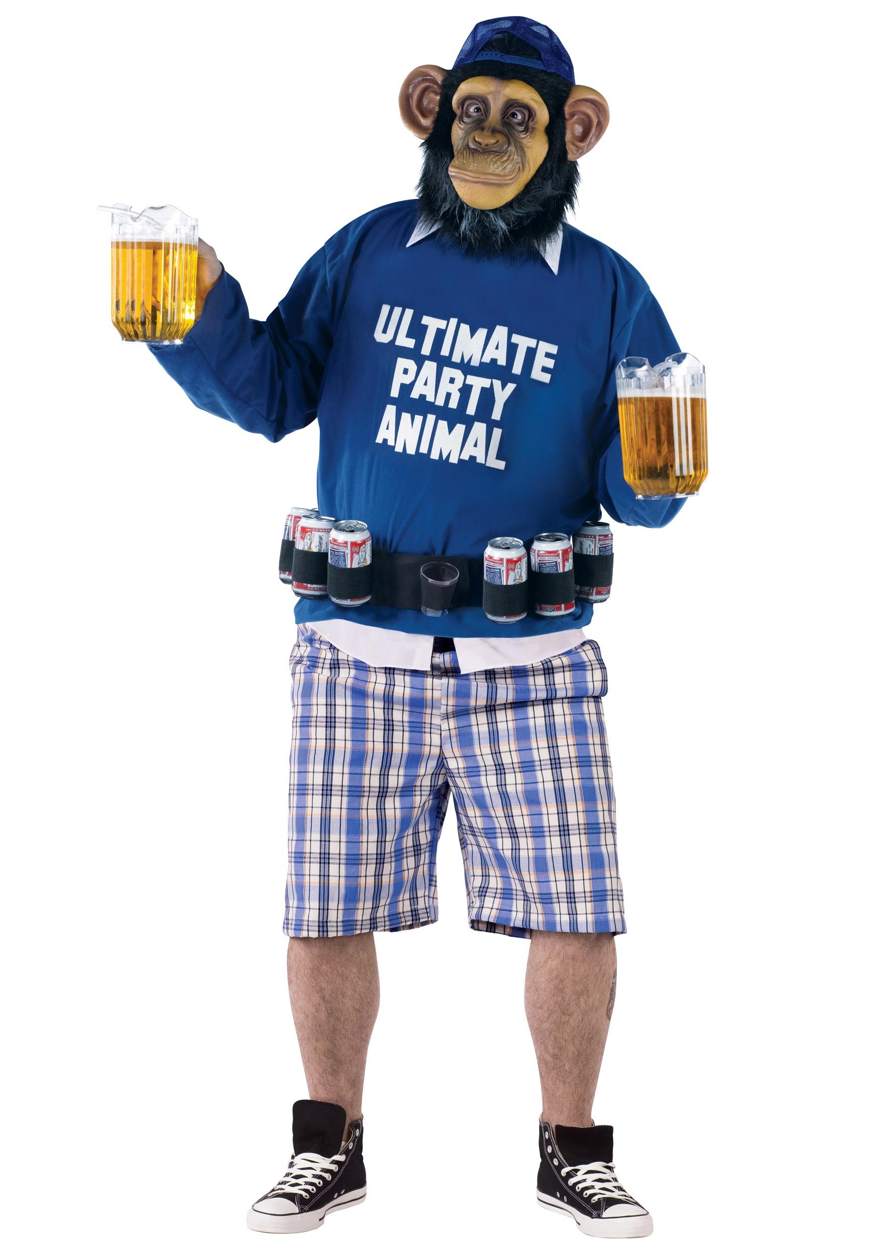 Plus Party Animal Costume  sc 1 st  Halloween Costumes & Plus Party Animal Costume - Halloween Costumes